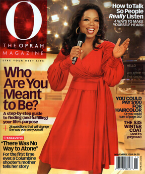 Oprah Magazine November Cover