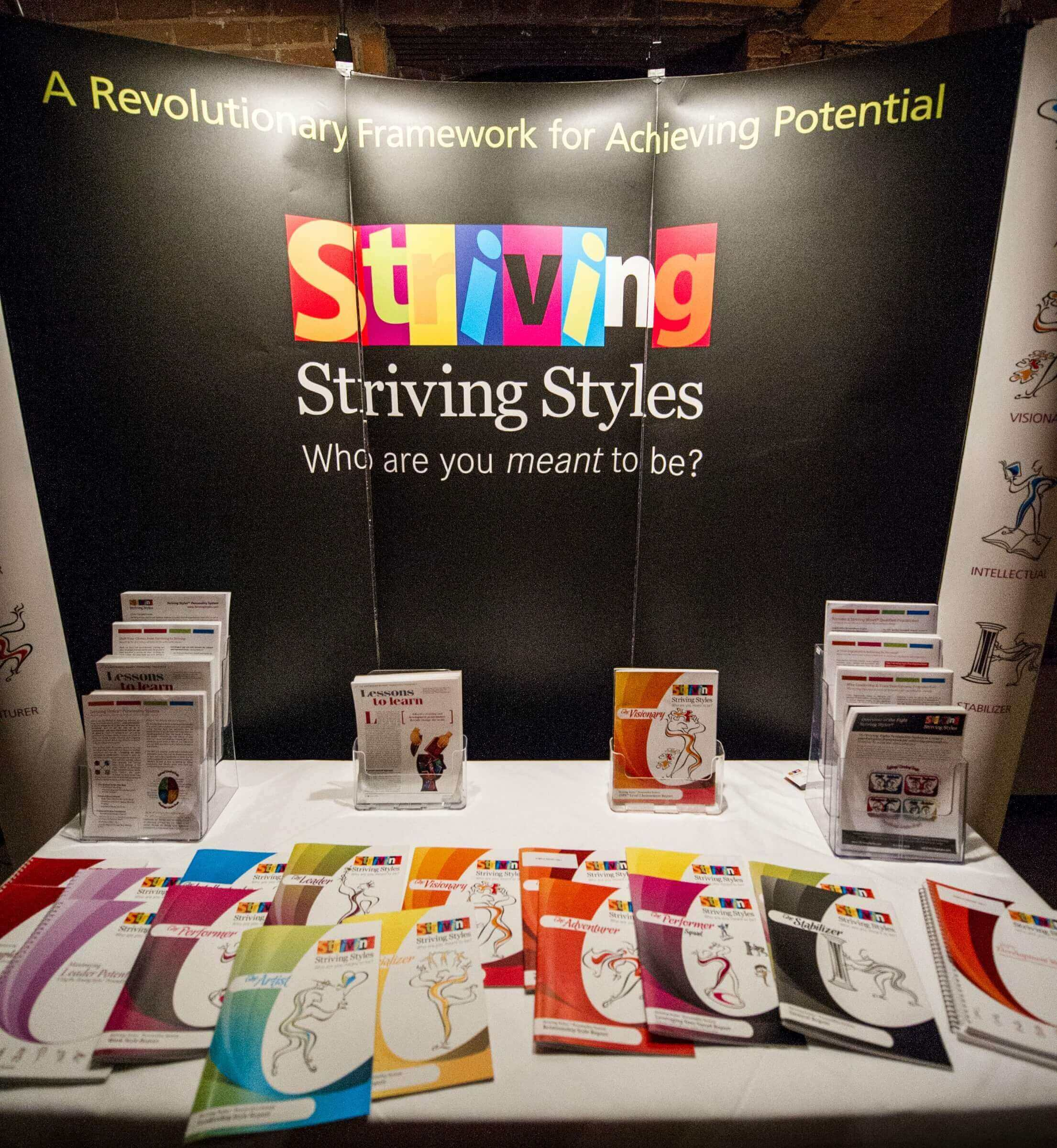 Striving Styles Personality System Booth