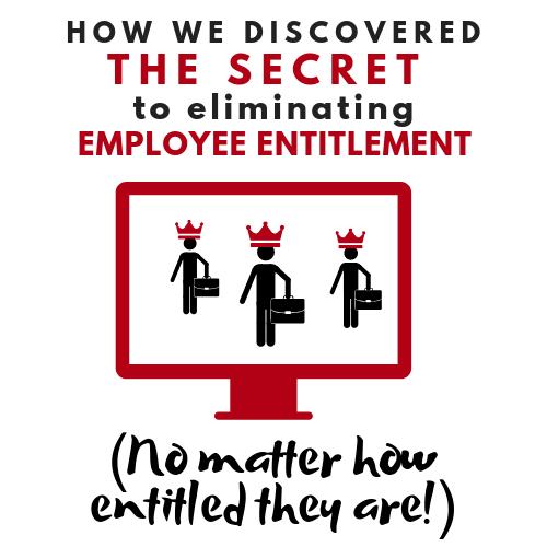 Leadership Development - Eliminating Employee Entitlement - Online Training